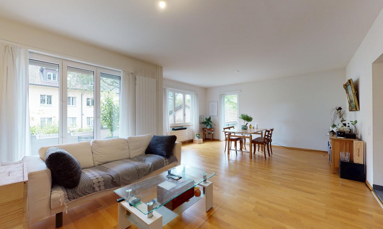 2½ Zi-Wohnung Hochparterre