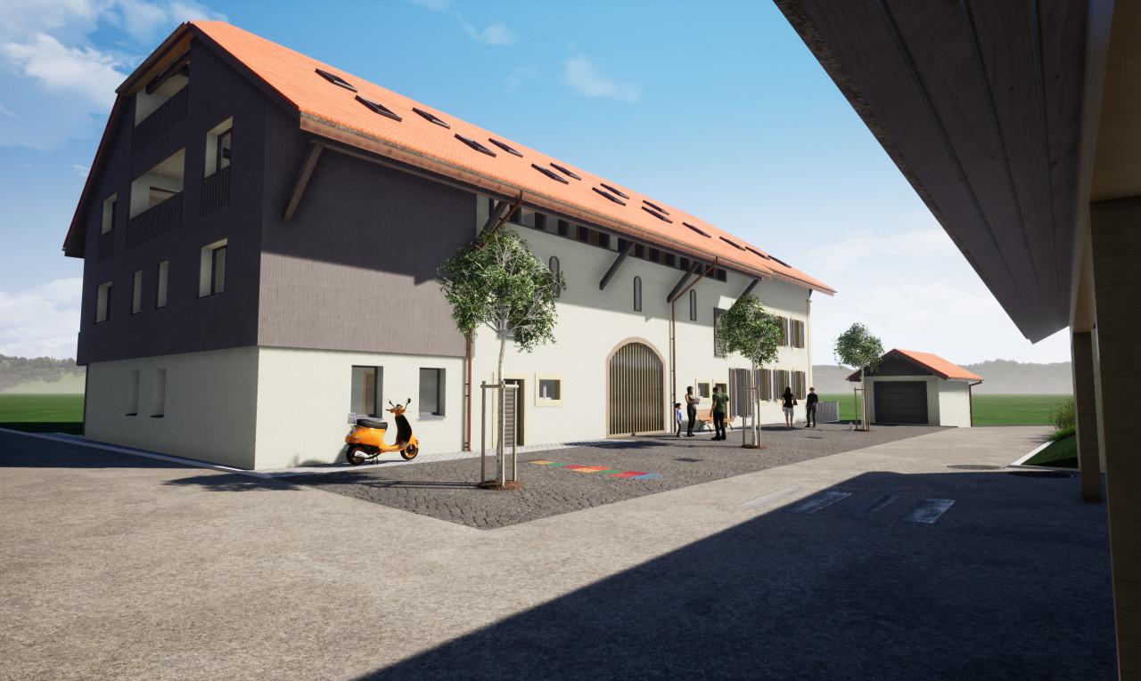 Achetez-le Immeuble de rendement dans Fribourg St-Aubin FR
