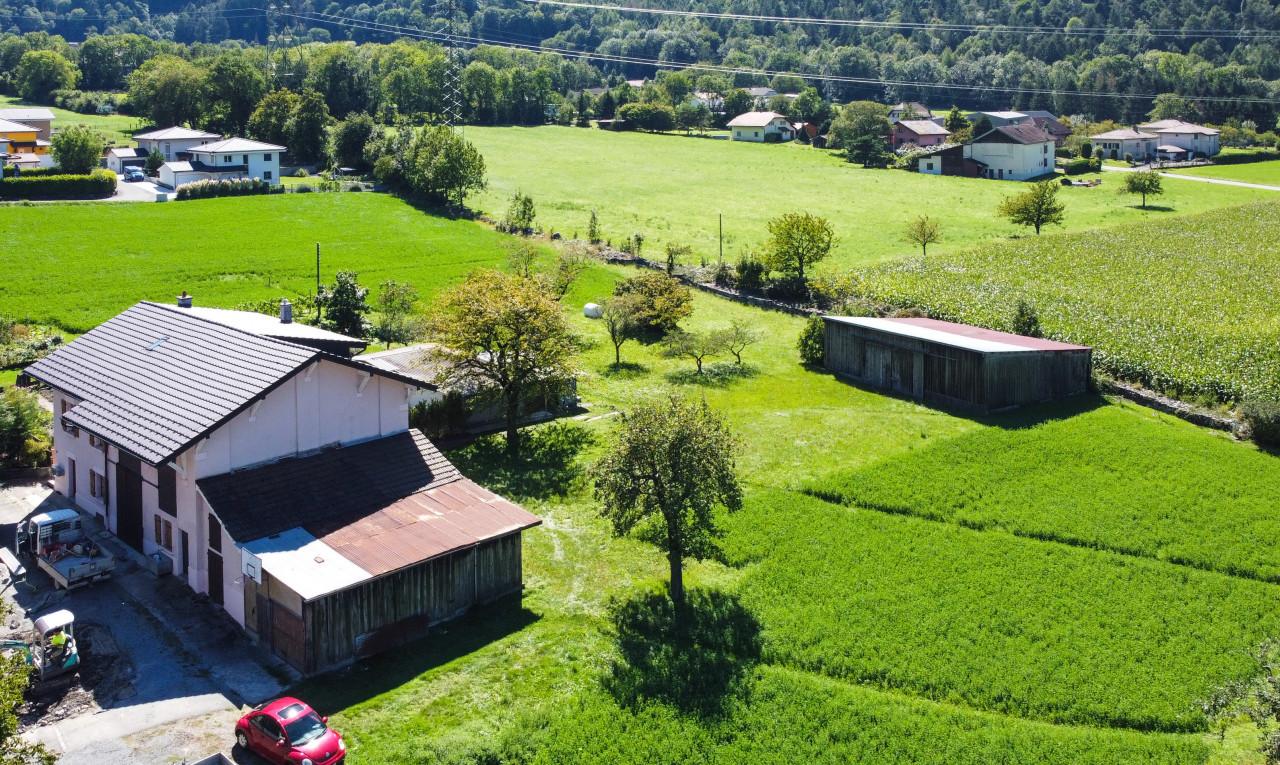 Terrain  à vendre à Valais St-Maurice