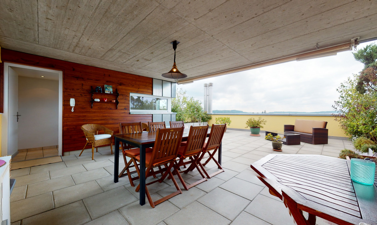 Terrasse en attique