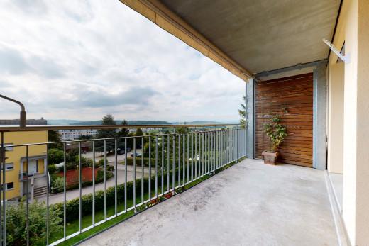 Balcon étage