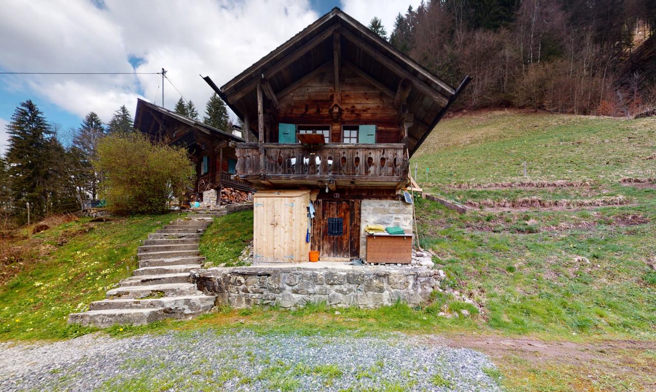 Achetez-le Maison dans Valais Val-d'Illiez