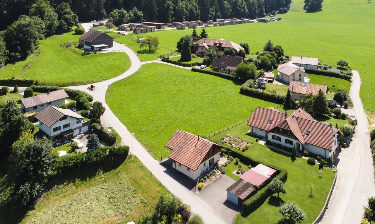 Terrain à vendre à Fribourg Grandvillard