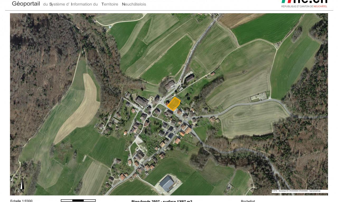 Achetez-le Terrain dans Neuchâtel Rochefort