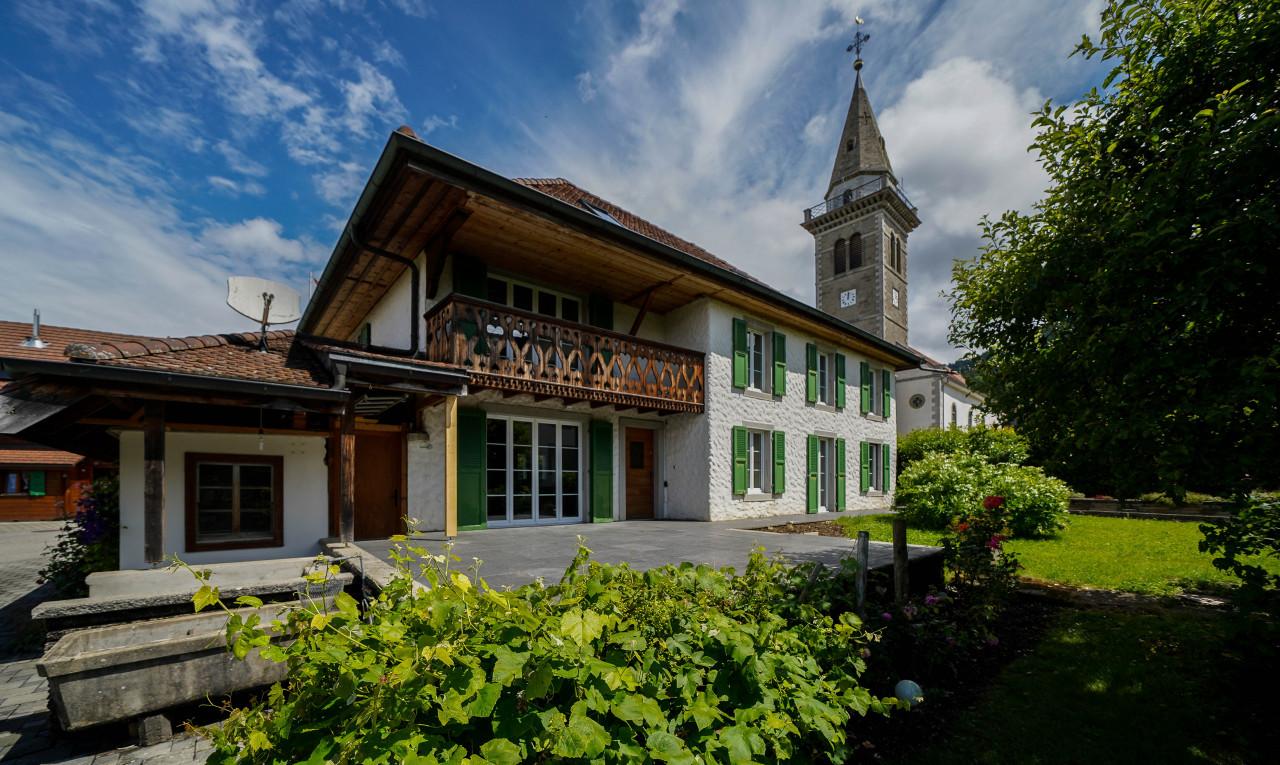 Maison à vendre à Fribourg Villarvolard