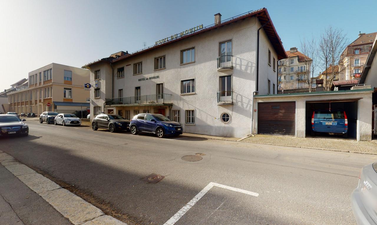 Immeuble de rendement à vendre à Neuchâtel La Chaux-de-Fonds