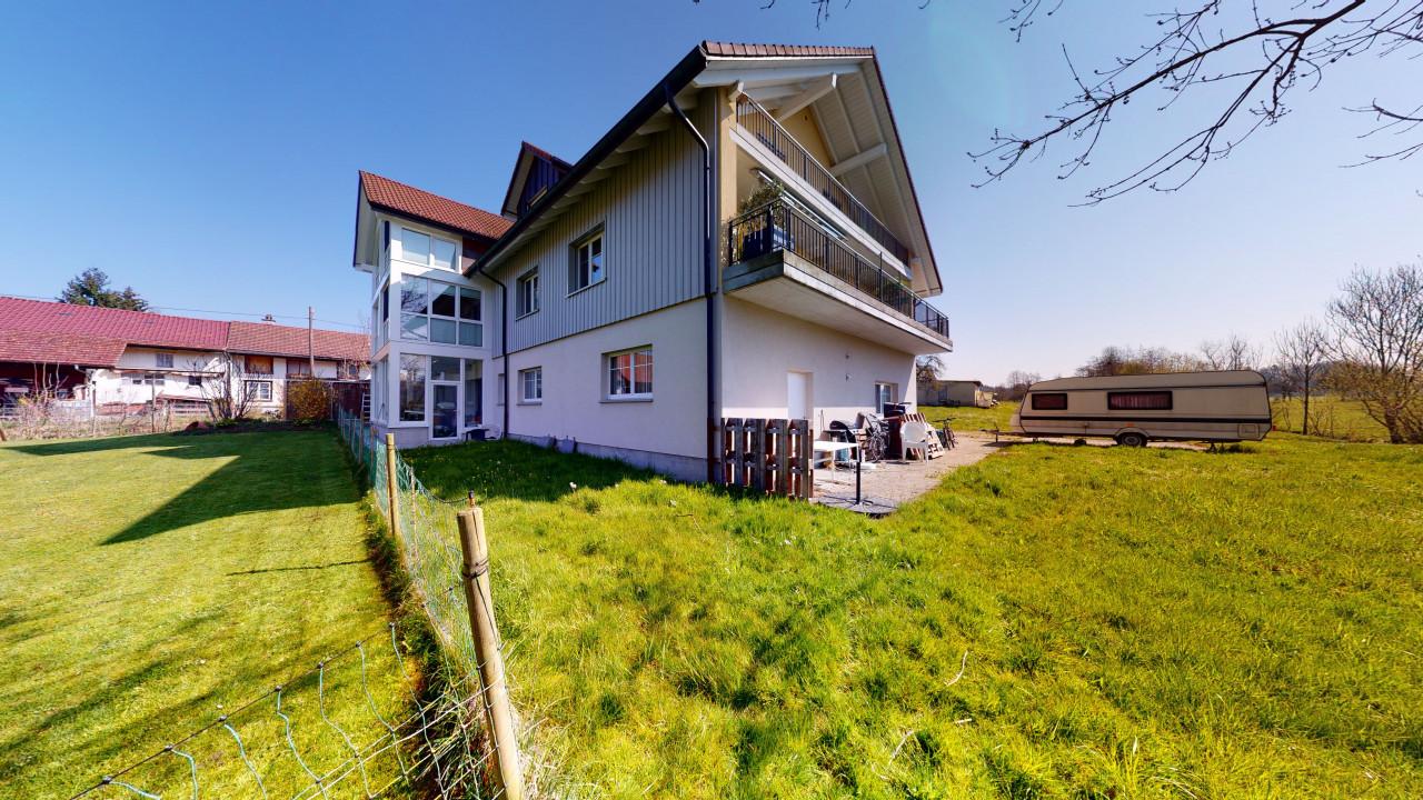 Idyllisch und sonnig gelegene Maisonette mit Säntisblick