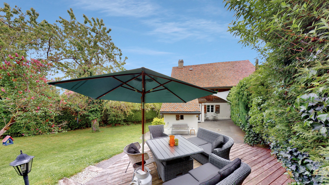 Maison individuelle  avec grand jardin à Villars-Tiercelin !